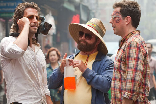 The Hangover II has won a lawsuit with Louis Vuitton