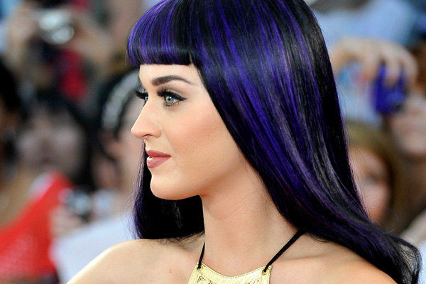 Katy Perry cried often before going on stage during tour