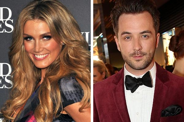 Delta Goodrem dating co-worker on The Voice