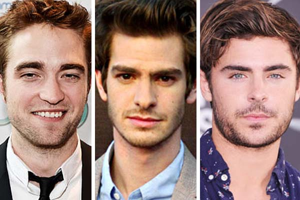 Robert Pattinson, Zac Efron & Andrew Garfield form supergroup