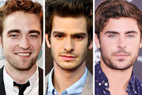 Robert Pattinson, Andrew Garfield, Zac Efron