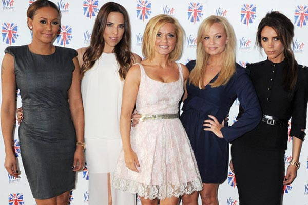 Spice Girls reunite for musical