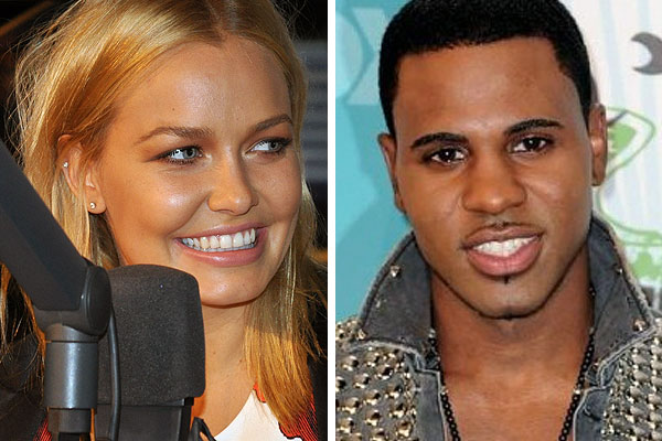 Lara Bingle and Jason Derulo