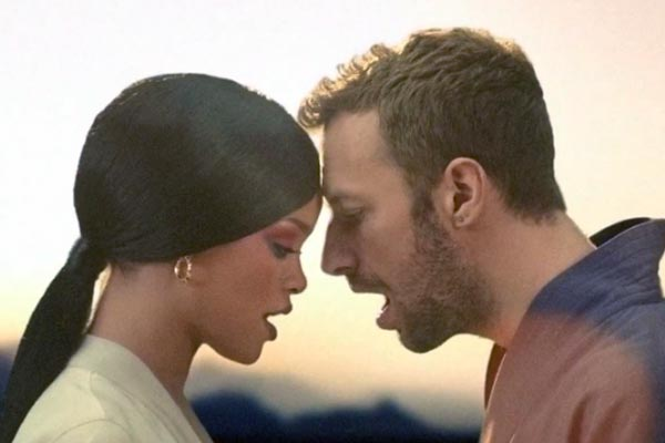 Rihanna and Coldplay