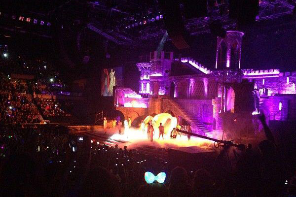 Lady Gaga live in Auckland
