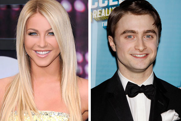 Julianne Hough and Daniel Radcliffe