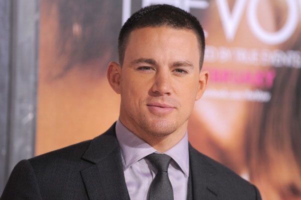 Channing Tatum eyes Fifty Shades Of Grey role
