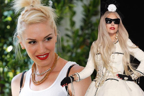 Gwen Stefani and Lady Gaga