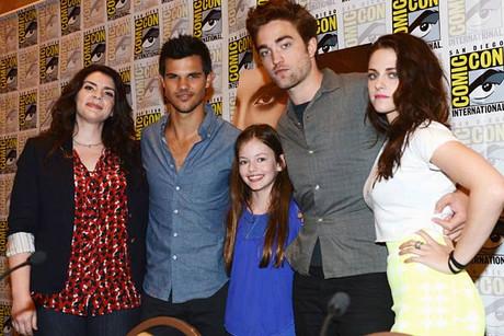 Twilight cast at Comic Con