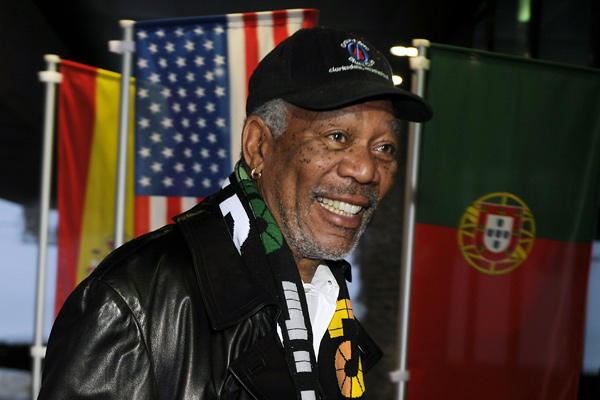 Morgan Freeman gives NZ a shout out