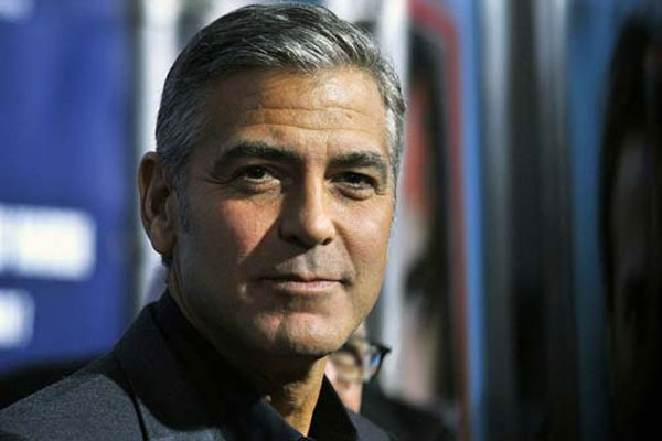 George Clooney voted 'most suited to be President'