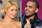 Paris Hilton and Chris Brown