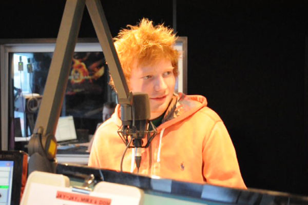Ed Sheeran in studio with Jay-Jay, Mike & Dom - the full interview