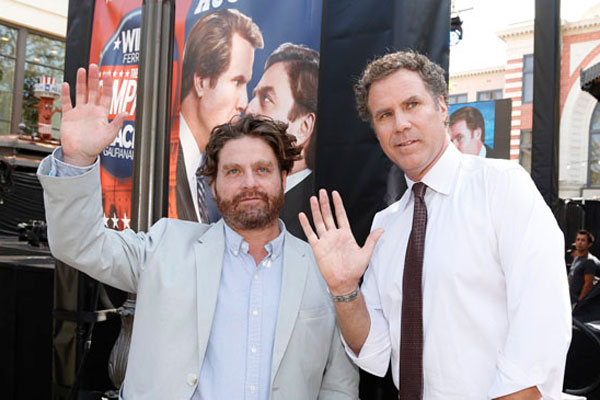 Will Ferrell nearly killed Zack Galifianakis