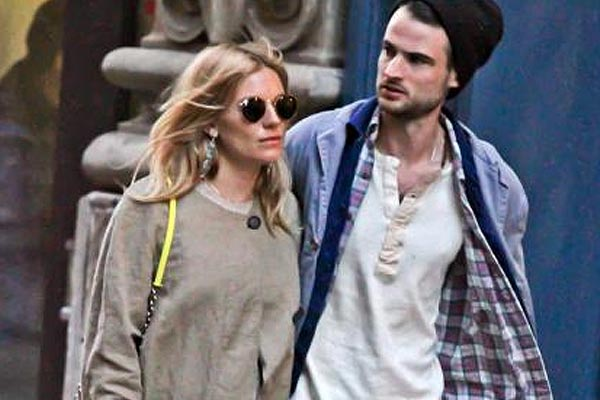 Sienna Miller is a mum