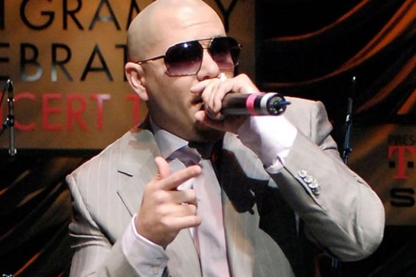 Pitbull goes where no superstar has gone before