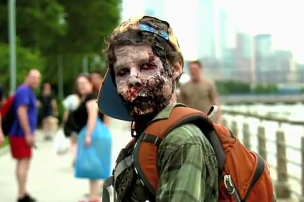 What if zombies lived among us?