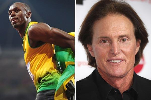 Usain Bolt, Bruce Jenner