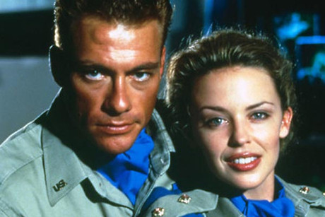 Jean Claude Van Damme and Kylie Minogue