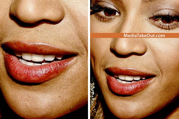 Does Beyonce have a moustache?