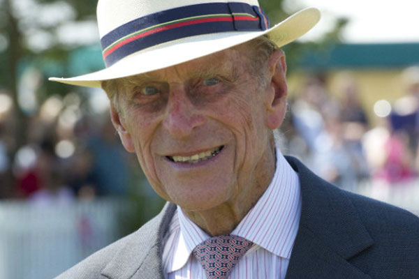 Prince Philip is back in hospital