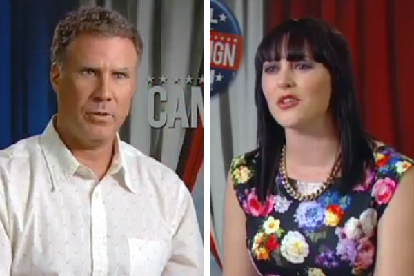 Will Ferrell talks to Sharyn about his new movie The Campaign and Hangover 2!