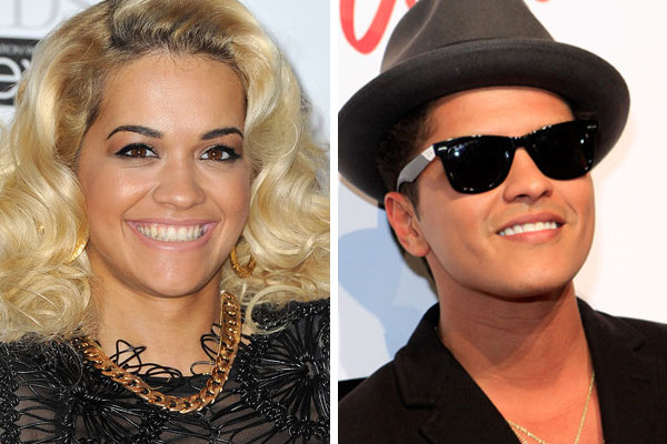 Bruno Mars & Rita Ora dated!