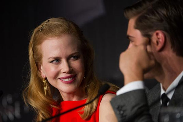 Nicole Kidman peed on Zac Efron