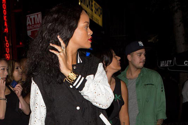 Rihanna went on a date with who this time?