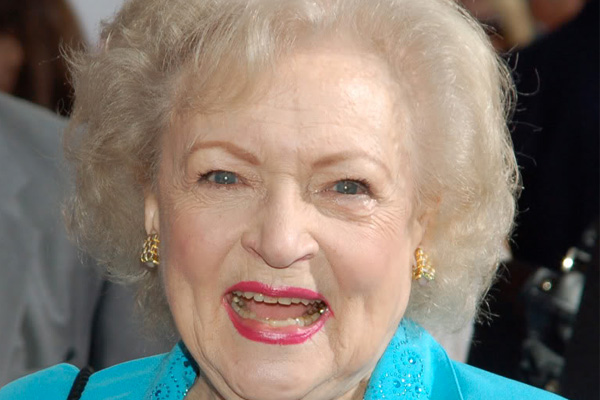 What is the secret to Betty White's longevity?
