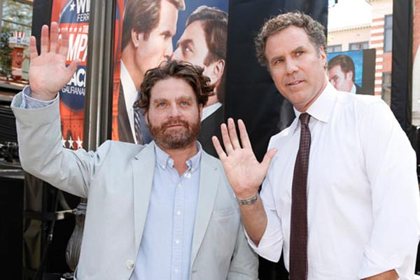 Will Ferrell almost killed Zach Galifianakis