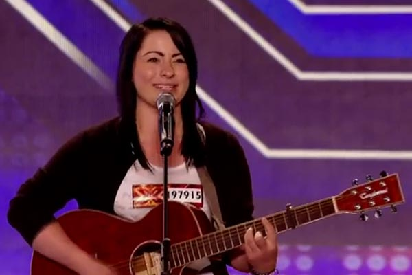 Lucy Spraggan's epic audition on UK X Factor