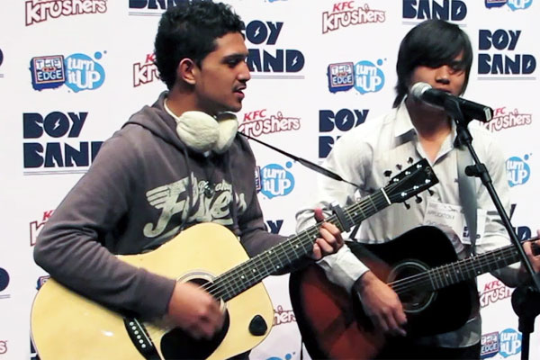 The Edge Boyband auditions - Telstra Clear Pacific Events Centre