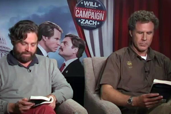 Will Ferrell and Zach Galifianakis read Fifty Shades of Grey