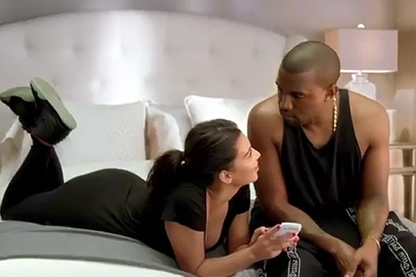 Kanye & Kim feature in MTV VMA ad