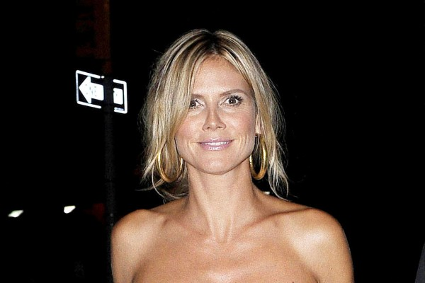 Heidi Klum had to glue her toenails back on