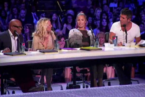 What you didn't see on The X Factor US last night
