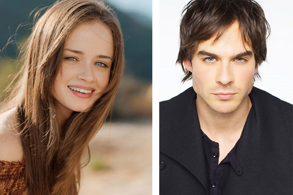 Alexis Bledel and Ian Somerhalder