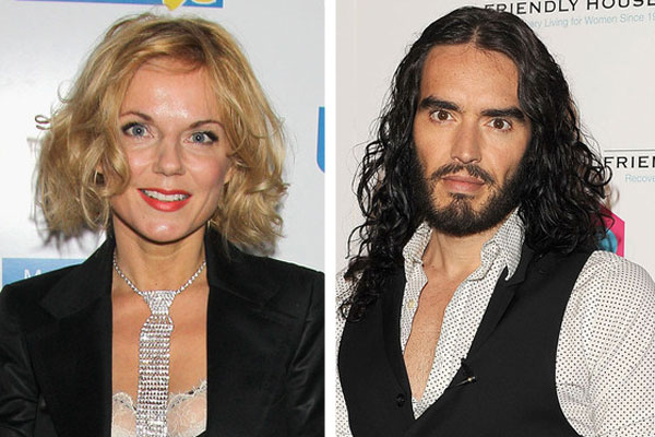 Ginger Spice was left embarrassed by Russell Brand