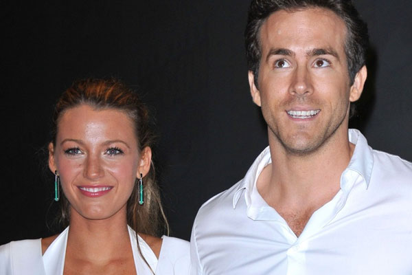 Ryan Reynold and Blake Lively's FAKE wedding
