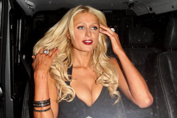 What did Paris Hilton say to upset the gay community?