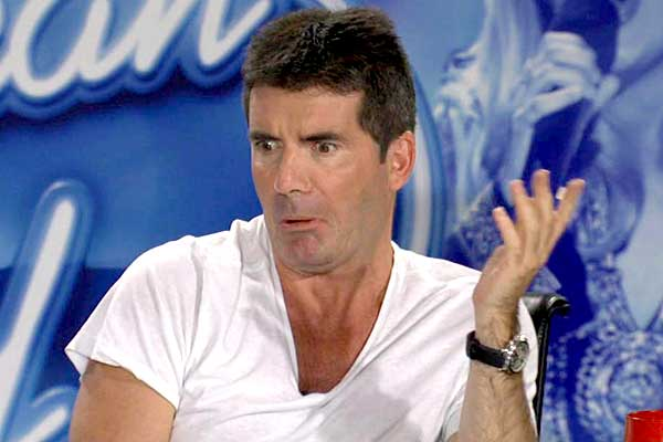 Simon Cowell is actually not as hard as you might think