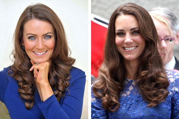 How much does Kate Middleton's impersonator make?