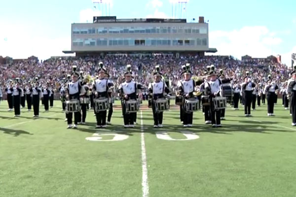 Marching band goes Gangnam Style