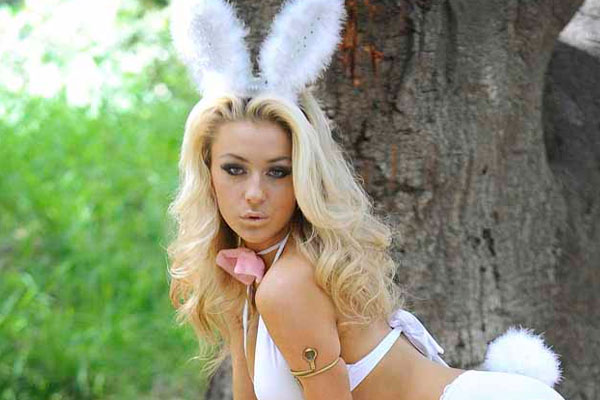 Teen bride eyes Playboy