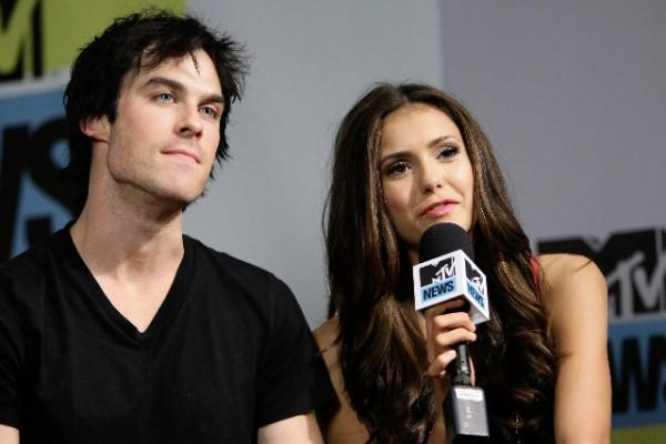 Nina Dobrev tried not to fall for boyfriend Ian Somerhalder