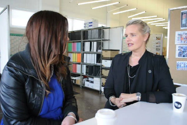 Moochi Fashion Week Sneak Peek: Megan chats to Kellie Taylor