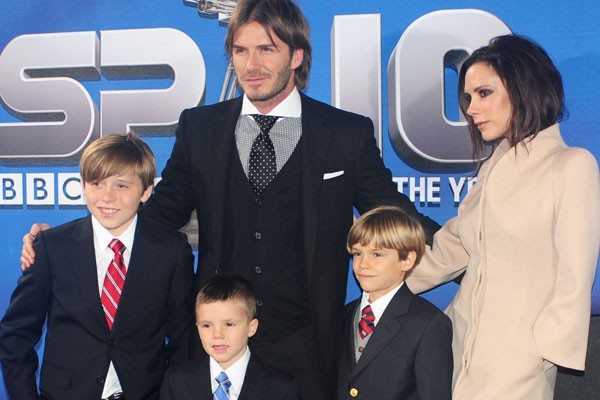 Guess who the Beckhams hired for their son's birthday party