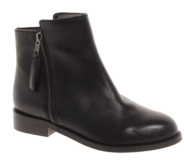Feeling like you don't want too much heel? Why not go for the Faith boots from asos.com for $139