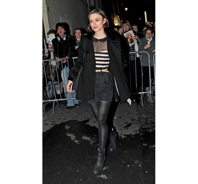 Keira Knightley loves her Acne Pistol Boots...
